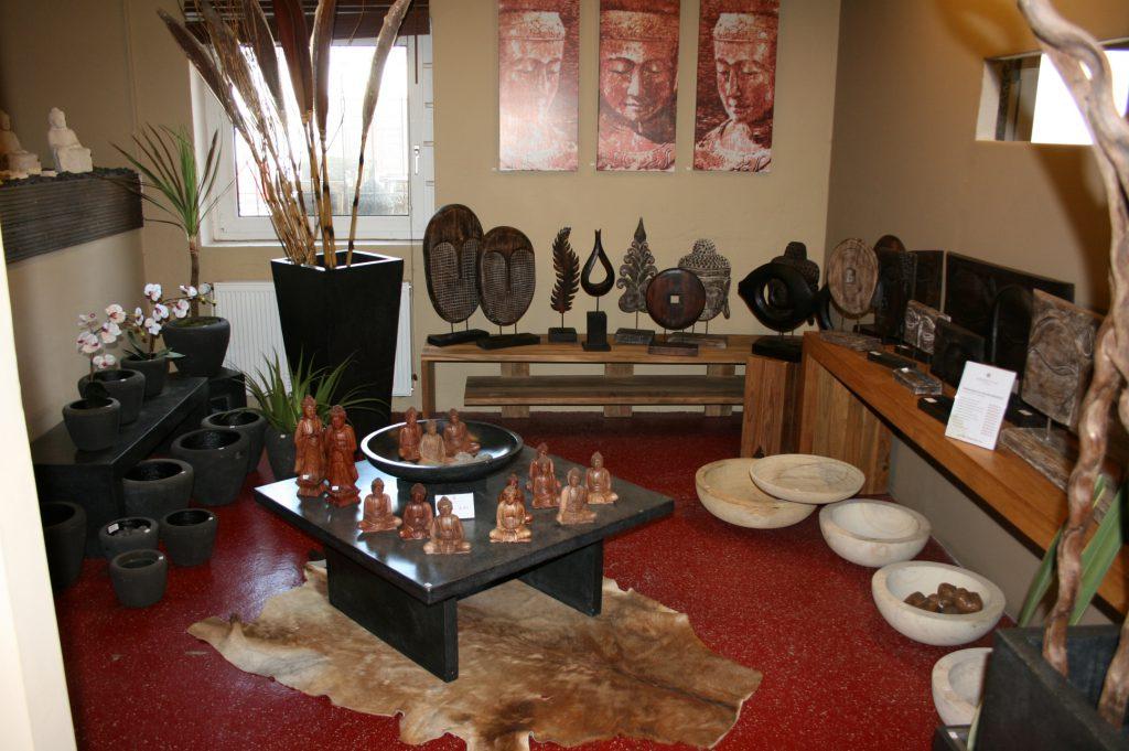 Onyx Tisch Holz Skulpturen
