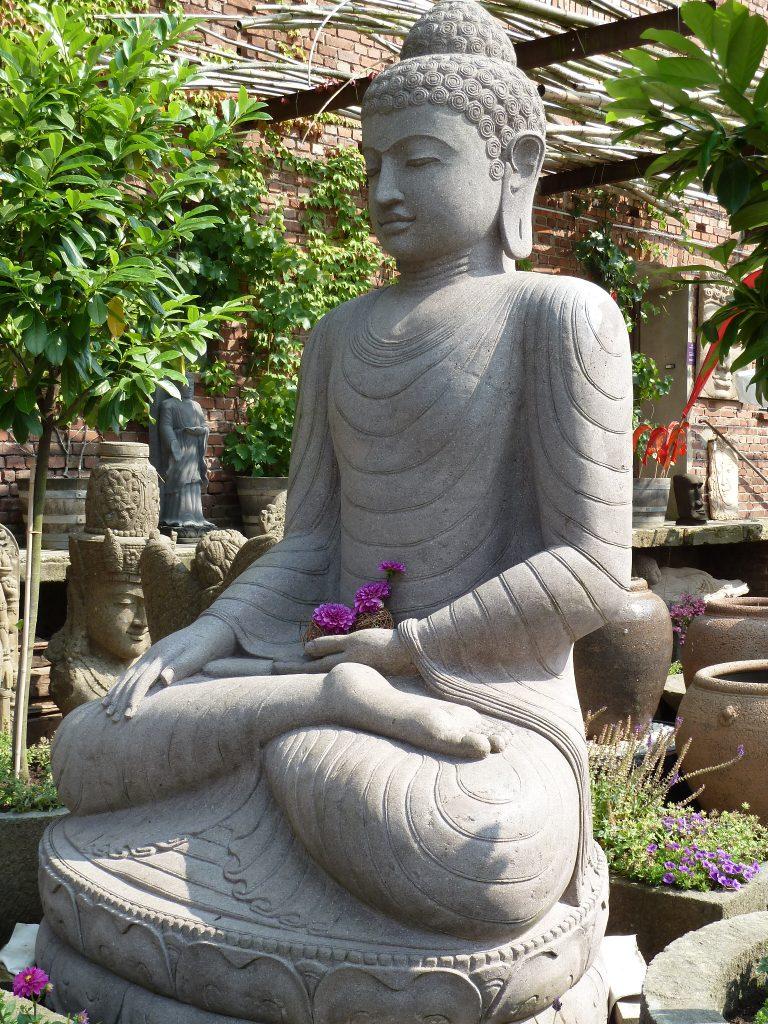 Buddha Steinskulptur